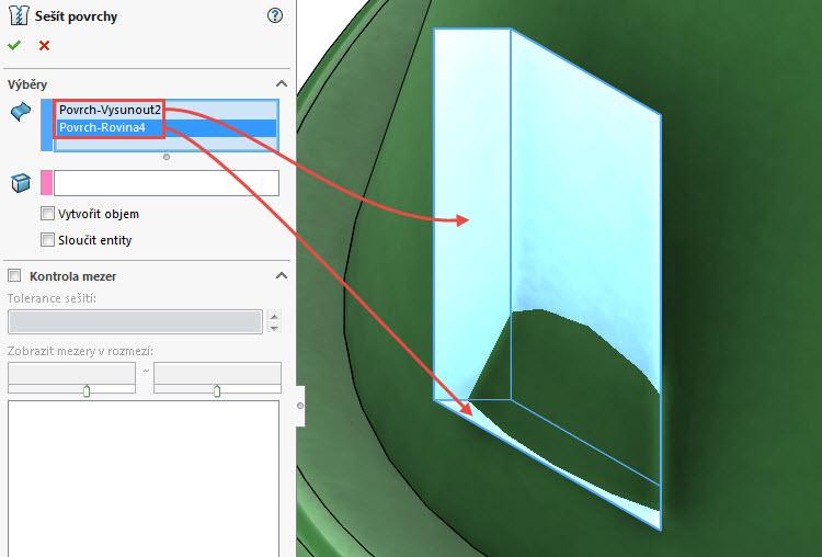 62-SolidWorks-prace-s-plochami-14-1-priklad-postup-reseni-modelovani-ploch-zaklady