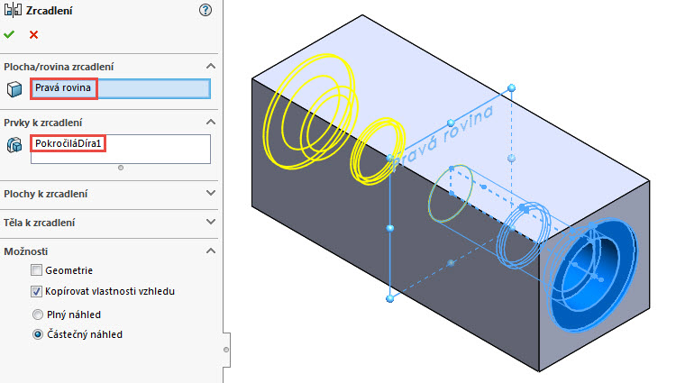 22-SolidWorks-pokrocily-pruvodce-dirami