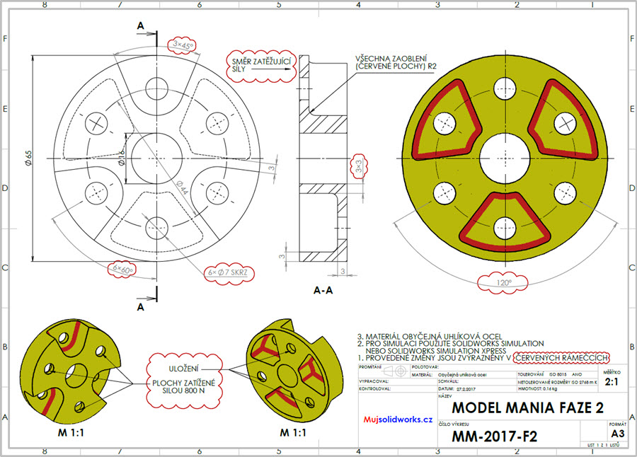 3-solidworks-model-mania-Los-Angeles-2017-zadani-reseni-solution-task-drawings-vykres