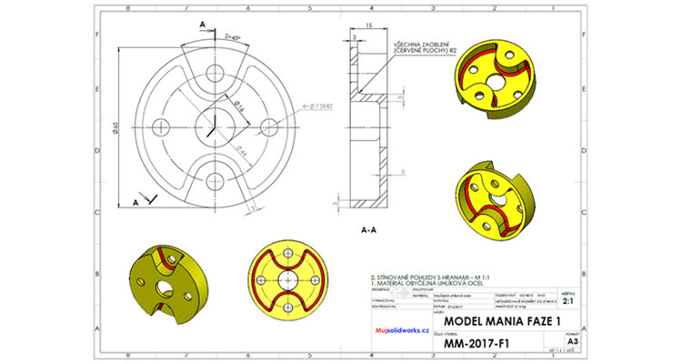2-solidworks-model-mania-Los-Angeles-2017-zadani-reseni-solution-task-drawings-vykres-1