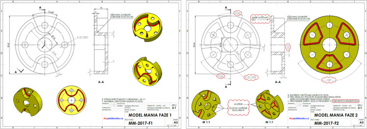 44-solidworks-model-mania-Los-Angeles-2017-zadani-reseni-solution-task-drawings-vykres