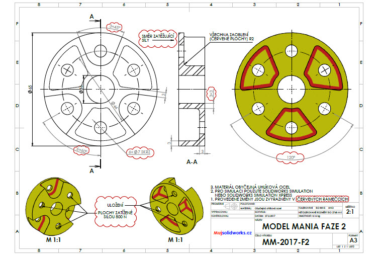 47-solidworks-model-mania-Los-Angeles-2017-zadani-reseni-solution-task-drawings-vykres