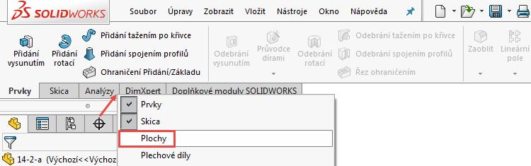2-1-Ucebnice-SolidWorks-modelovani-ploch-priklad-14-2-postup-navod-tutorial
