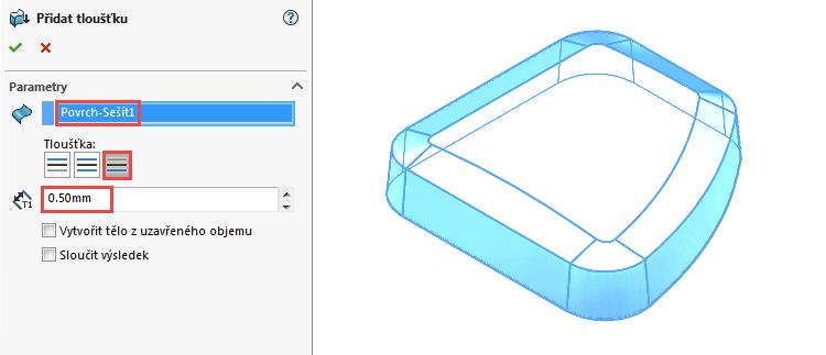 27-0-Ucebnice-SolidWorks-modelovani-ploch-priklad-14-2-postup-navod-tutorial