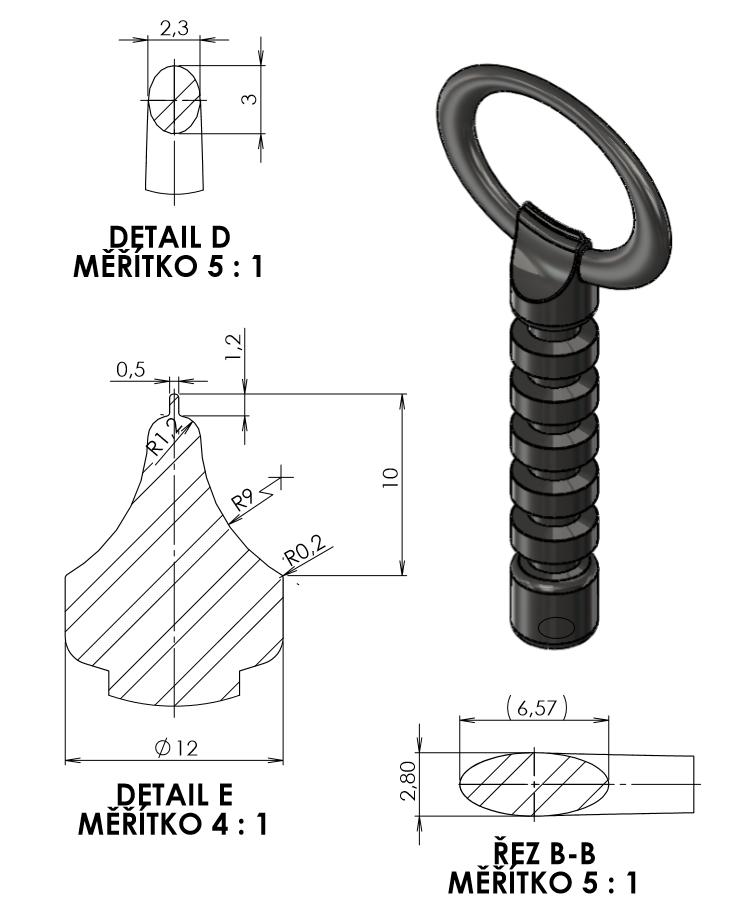 3-SolidWorks-vyvrtka-zadani-sroubeni-vykres