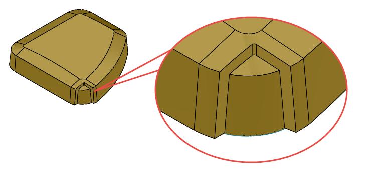 Práce splochami: Odsazování a ořezávání ploch #1 (příklad 14.2)