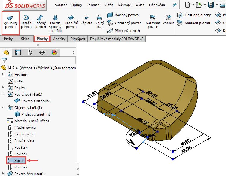 80-Ucebnice-SolidWorks-modelovani-ploch-priklad-14-2-postup-navod-tutorial
