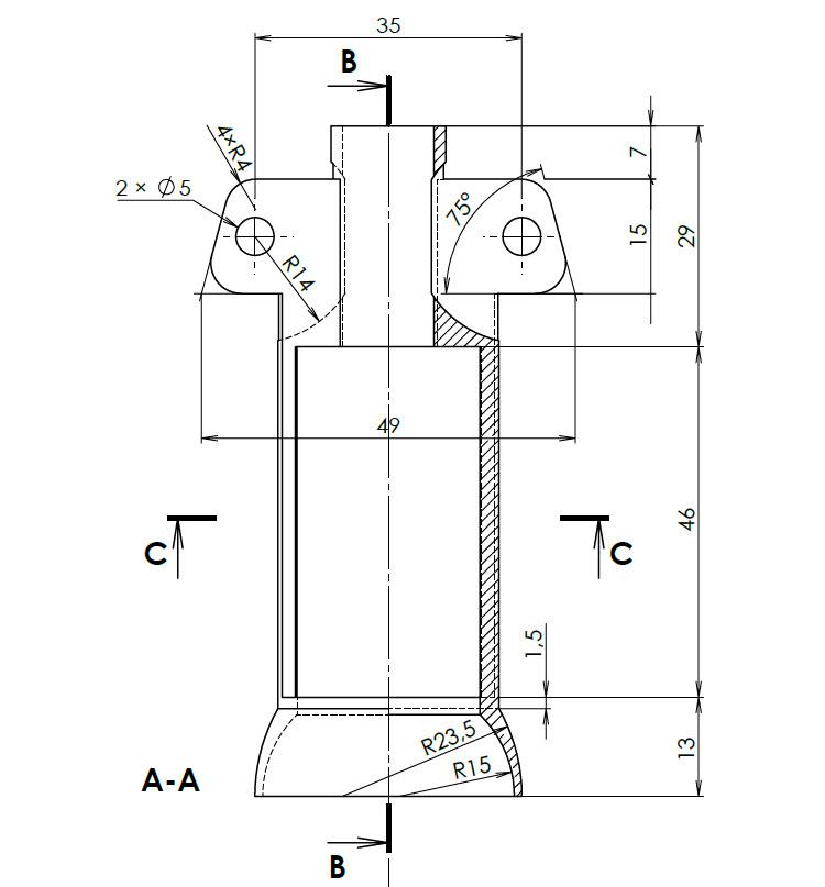 11-SolidWorks-vyvrtka-telo-zadani-drawing-corkscrew