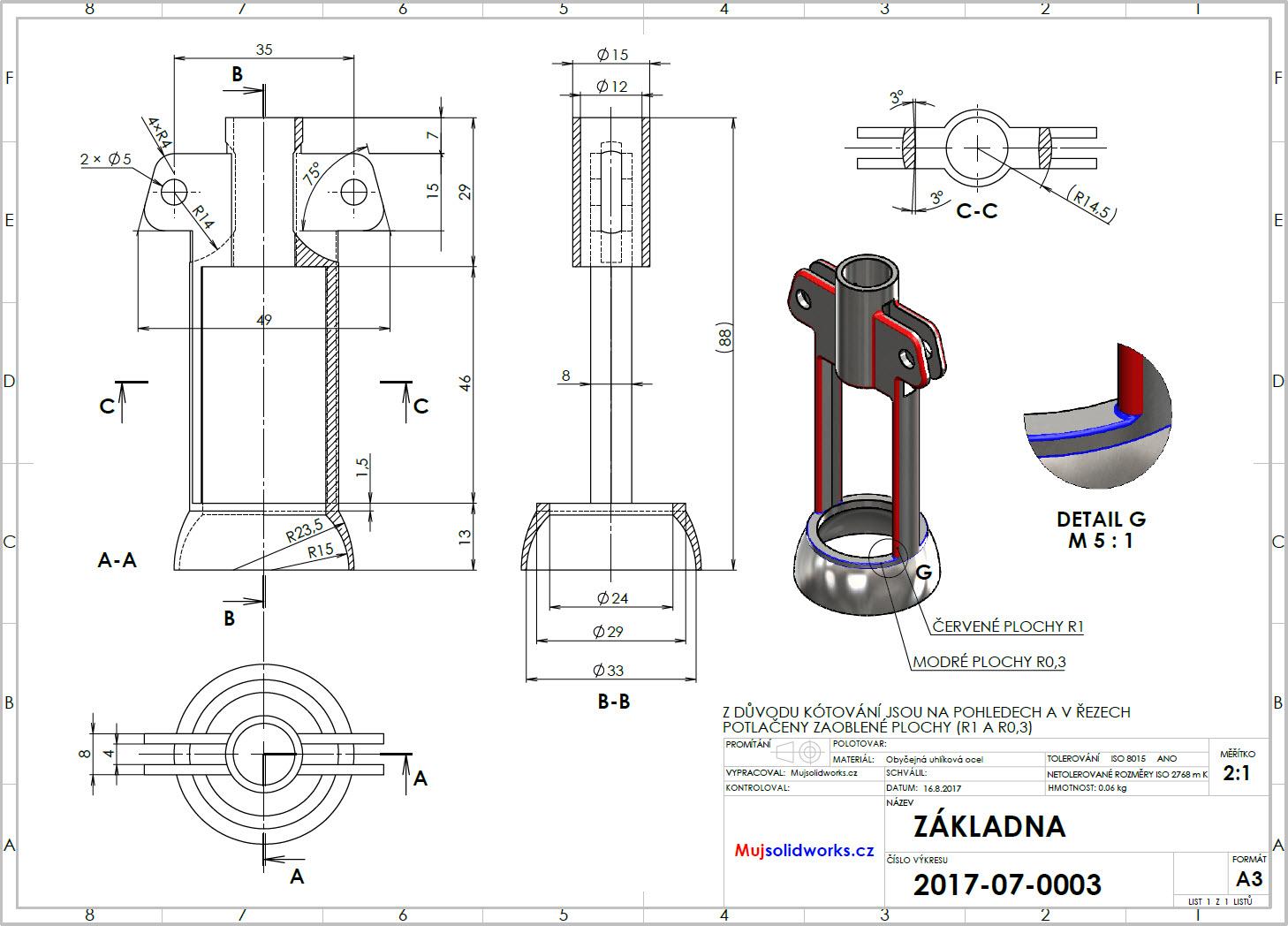 9-SolidWorks-vyvrtka-telo-zadani-drawing-corkscrew