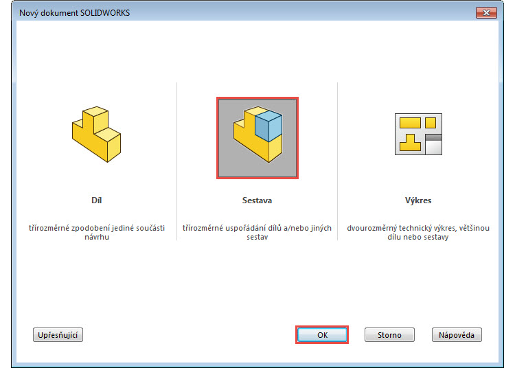 1-SolidWorks-navod-postup-vyvrtka-sestava