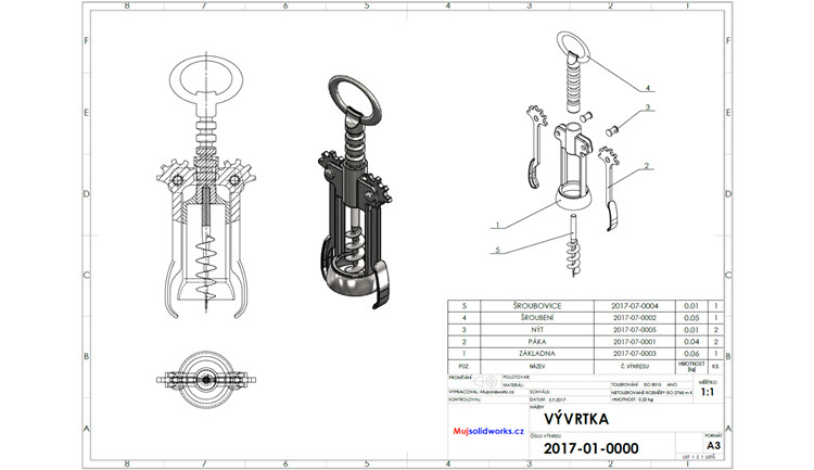 6-SolidWorks-vyvrtka-sestava-assembly