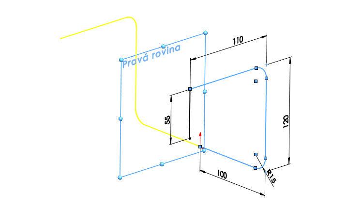 7-SolidWorks-2018-zrcadleni-3D-skici-3D-sketching