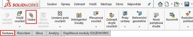 1-SolidWorks-2018-vazby-mates-kolma-vychylena-novinky