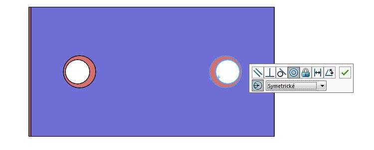 Symetrické – použije polovinu vychýlení na každou soustřednou vazbu