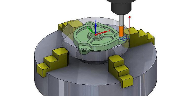 Soutěžním zadáním byl model určený k výrobě frézováním