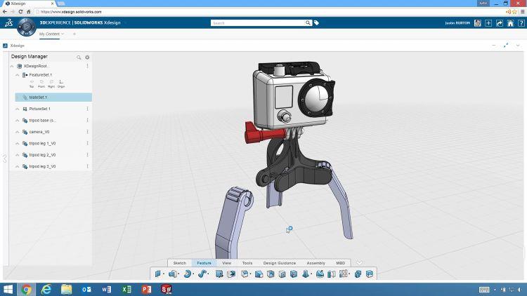 SolidWorks xDesign vychází ze známé platformy 3D Experience, která je vlajkovou lodí společnosti Dassault Systèmes. Obrázek: Dassault Systèmes