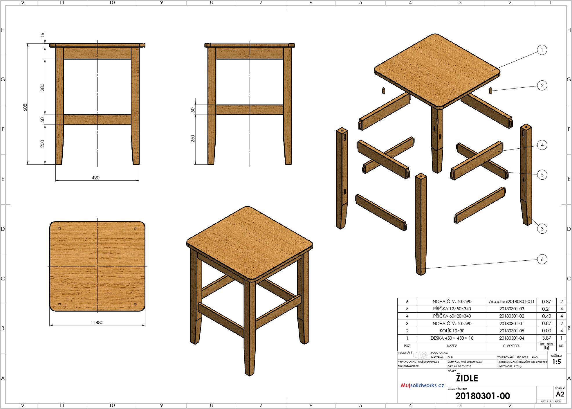 1-postup-navod-zacatecnik-sestava-animace-SolidWorks-tutorial