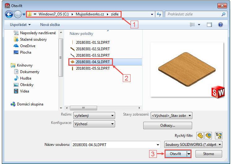 2-Mujsolidworks-sestava-zidle-postup-tutorial-navod
