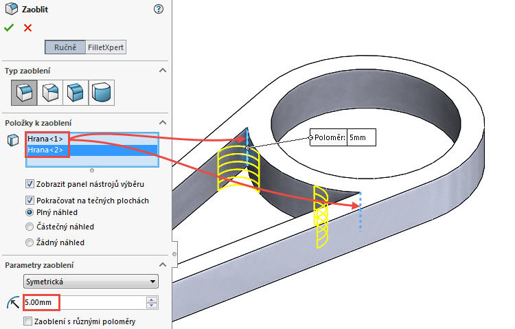 22-SolidWorks-vahadlo-Hranice-2018-postup-tutorial-navod