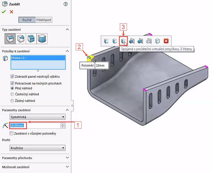 31-SolidWorks-kryt-Hranice-2018-postup-tutorial-navod