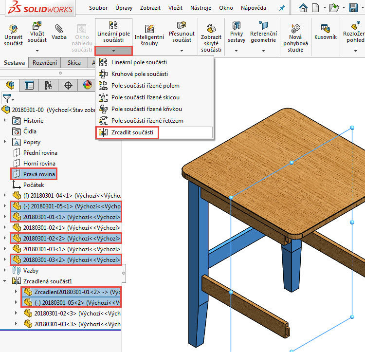 35-Mujsolidworks-sestava-zidle-postup-tutorial-navod