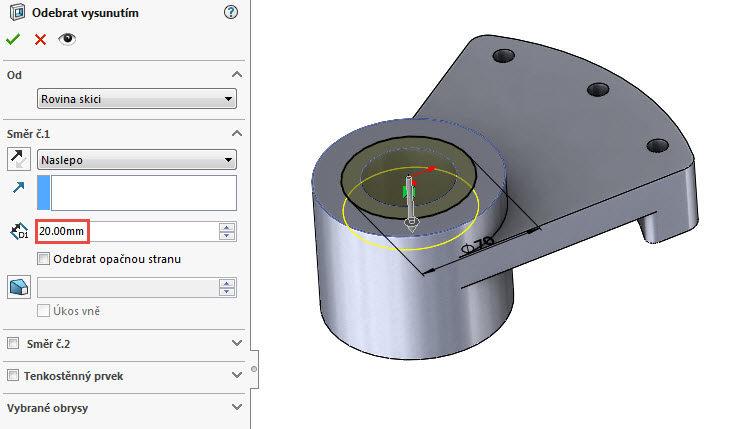 44-SolidWorks-vahadlo1-Hranice-2018-postup-tutorial-navod