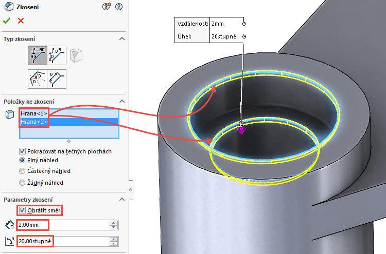 47-SolidWorks-vahadlo1-Hranice-2018-postup-tutorial-navod