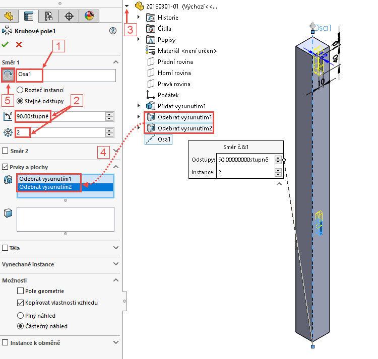 47-postup-navod-zacatecnik-sestava-animace-SolidWorks-tutorial-noha
