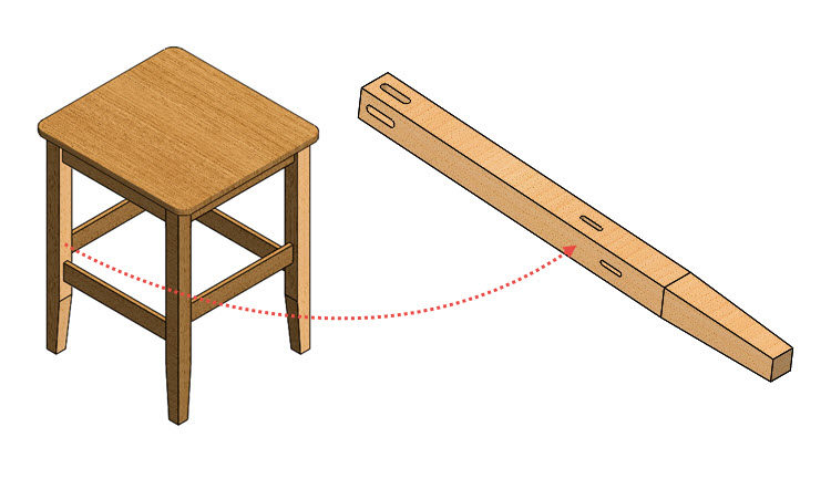 65-postup-navod-zacatecnik-sestava-animace-SolidWorks-tutorial-noha