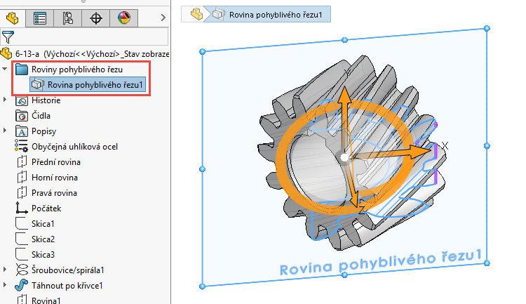 16-SolidWorks-rovina-pohybliveho-rezu-navod,postup