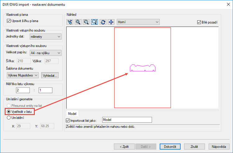 5-SolidWorks-import-DXF-AutoCAD-postup-navod
