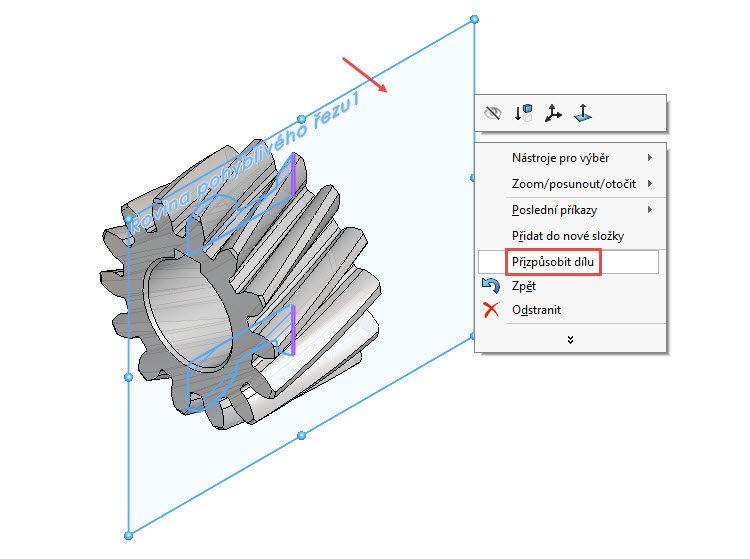 6-SolidWorks-rovina-pohybliveho-rezu-navod,postup