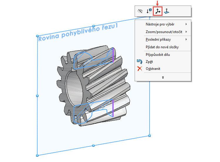 7-SolidWorks-rovina-pohybliveho-rezu-navod,postup