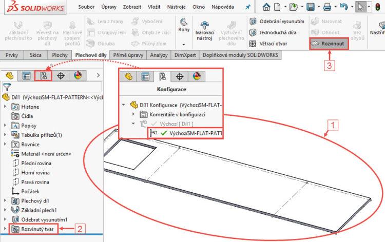 10-SolidWorks-plechove-dily-sheet-metal-konfigurace-vykres
