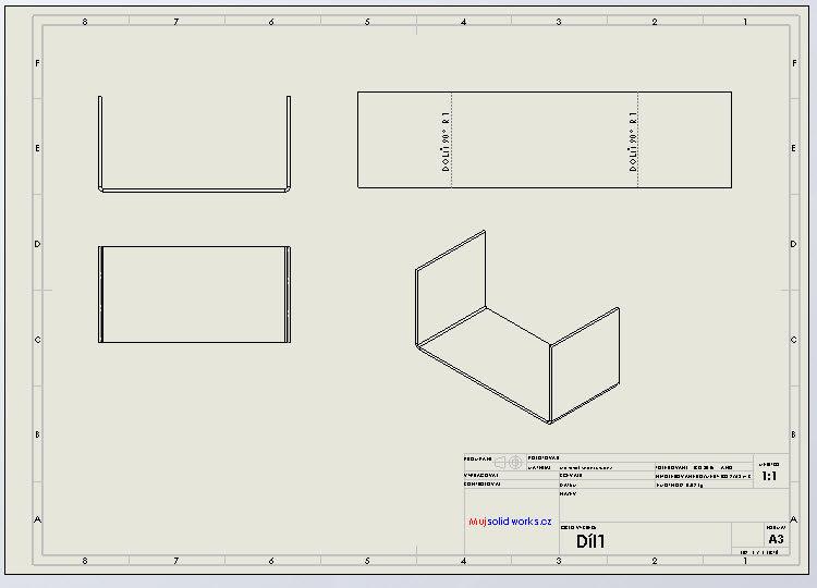 11-SolidWorks-plechove-dily-sheet-metal-konfigurace-vykres