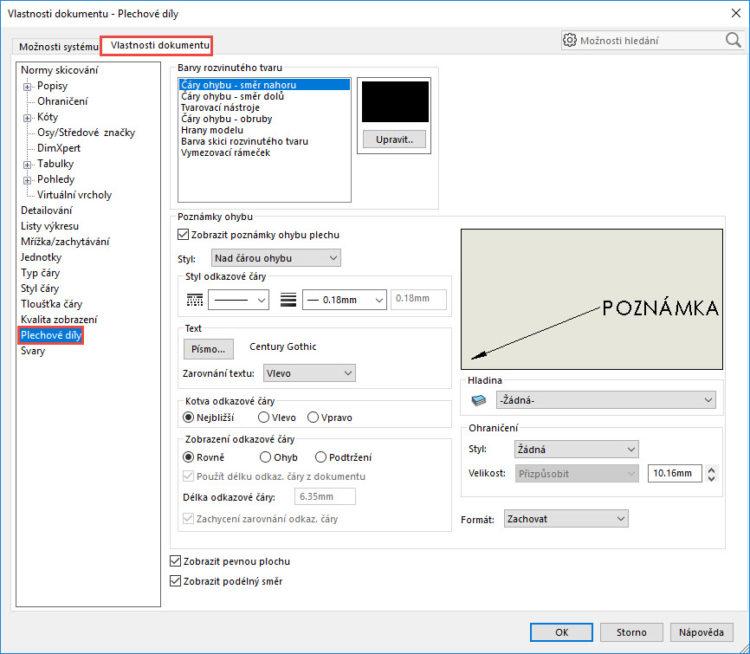 13-SolidWorks-plechove-dily-sheet-metal-konfigurace-vykres