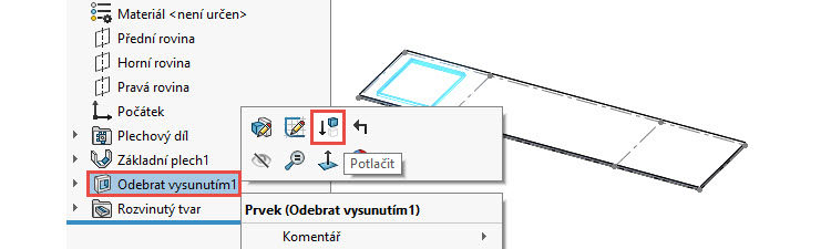 29-SolidWorks-plechove-dily-sheet-metal-konfigurace-vykres