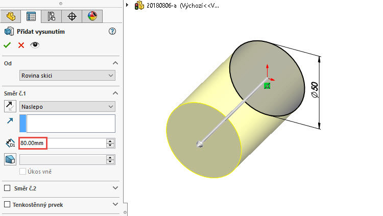 9-SolidWorks-prace-s-tely-postup-navod-tutorial