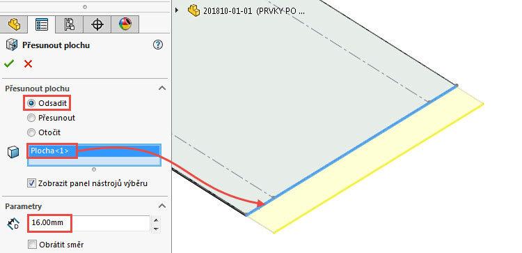 61-SolidWorks-postup-navod-modelani-vetrak-plechove-dily-skrin
