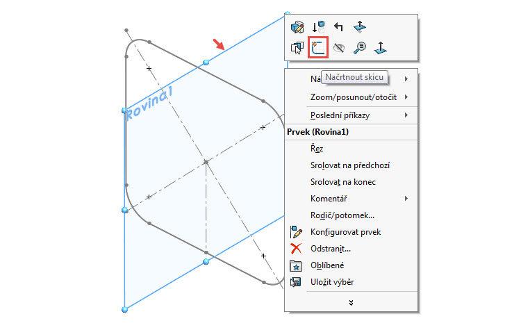 9.2-SolidWorks-postup-navod-modelani-vetrak-plechove-dily-skrin