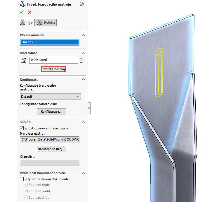 104-SolidWorks-postup-navod-modelani-vetrak-plechove-dily-vyztuha-skrine