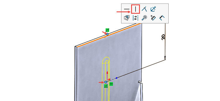105-SolidWorks-postup-navod-modelani-vetrak-plechove-dily-vyztuha-skrine