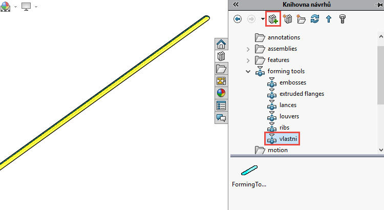 108-SolidWorks-postup-navod-modelani-vetrak-plechove-dily-vyztuha-skrine