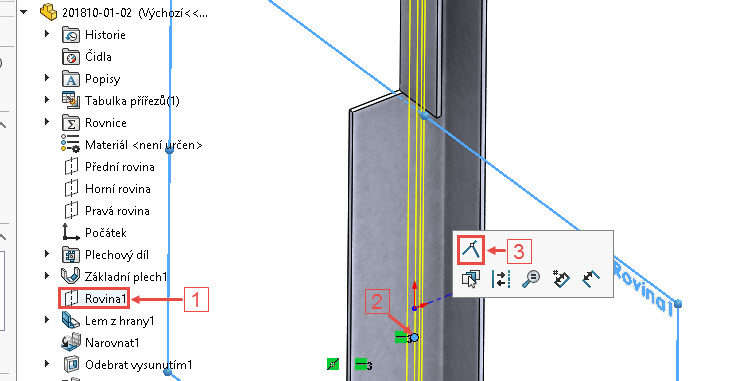 111-SolidWorks-postup-navod-modelani-vetrak-plechove-dily-vyztuha-skrine