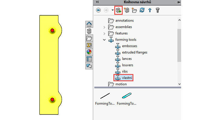 120-SolidWorks-postup-navod-modelani-vetrak-plechove-dily-vyztuha-skrine