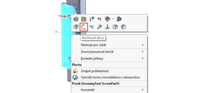 125-SolidWorks-postup-navod-modelani-vetrak-plechove-dily-vyztuha-skrine