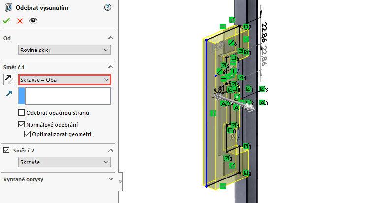 127-SolidWorks-postup-navod-modelani-vetrak-plechove-dily-vyztuha-skrine