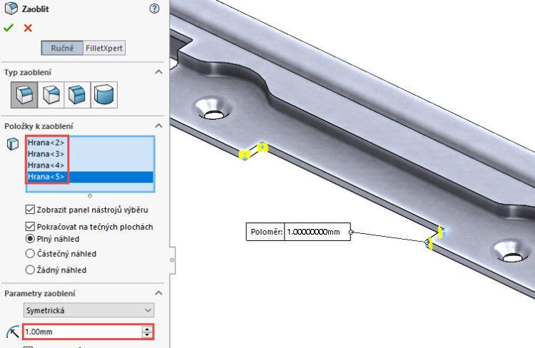 128-SolidWorks-postup-navod-modelani-vetrak-plechove-dily-vyztuha-skrine