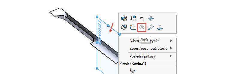 73-SolidWorks-postup-navod-modelani-vetrak-plechove-dily-vyztuha-skrine