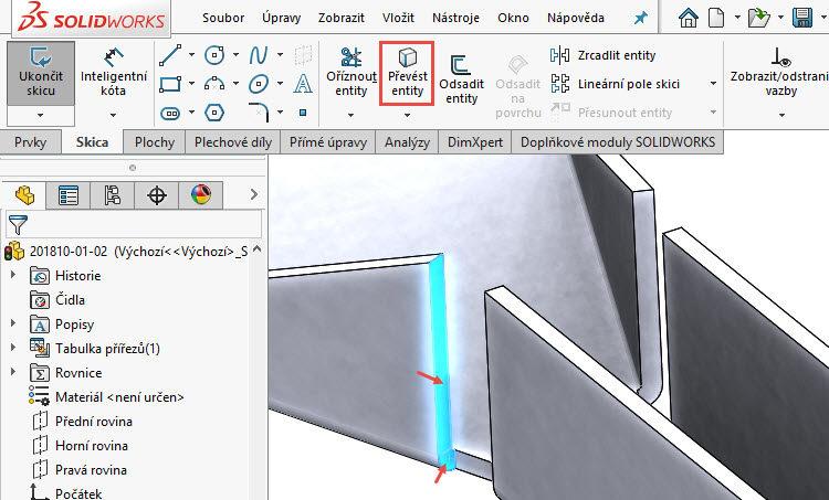 81-SolidWorks-postup-navod-modelani-vetrak-plechove-dily-vyztuha-skrine